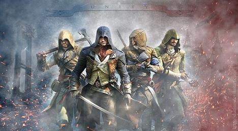 دانلود تریلر مقایسه گرافیک بازی Assassin's Creed Unity