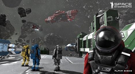 دانلود تریلر گیم پلی بازی Space Engineers Gamescom 2014