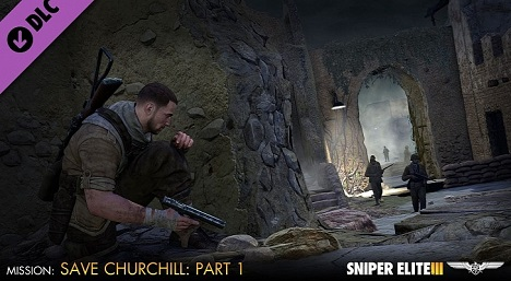 دانلود تریلر بازی Sniper Elite III Save Churchill DLC