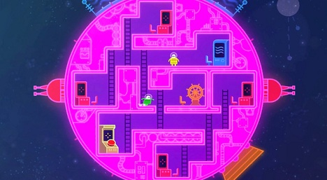دانلود تریلر بازی Lovers in a Dangerous Spacetime E3 2014