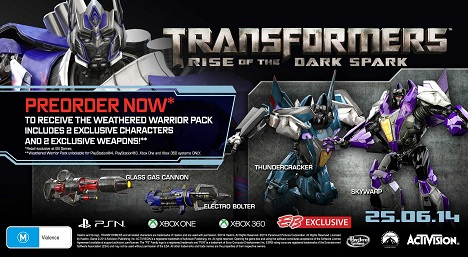 دانلود کرک بازی Transformers Rise of the Dark Spark