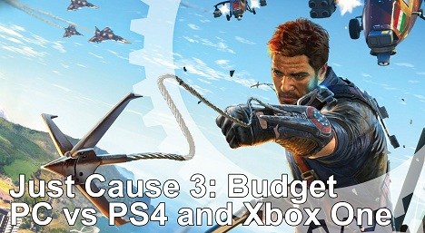 Just Cause 3 PS4 vs Xbox One Frame-Rate Test