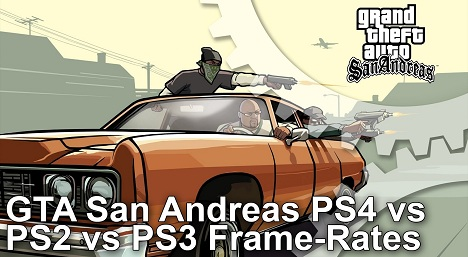 Grand Theft Auto San Andreas Frame Rate Test