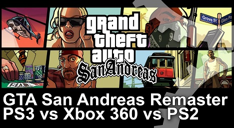 GTA San Andreas Remaster Frame Rate Test