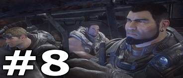 Gears of War Ultimate Edition Campaign Gameplay FULL Walkthrough Part 8