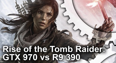 Rise of the Tomb Raider Gameplay Frame Rate Tests