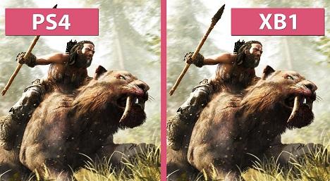 مقایسه گرافیک بازی Far Cry Primal