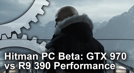 Hitman PC Beta Frame Rate Test