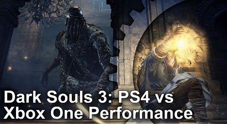 Dark Souls 3 PS4 vs Xbox One Gameplay Frame Rate Test