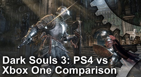 Dark Souls 3 PS4 vs Xbox One Graphics Comparison