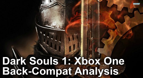 Dark Souls 1 Xbox One vs Xbox 360 Gameplay Frame Rate Test