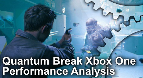 Quantum Break Xbox One Gameplay Frame Rate Test