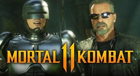Mortal Kombat 11 ROBOCOP vs TERMINATOR