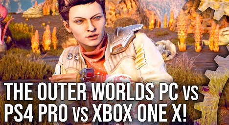 The Outer Worlds Xbox One X PS4 Pro vs PC + Best Settings + Nintendo Switch