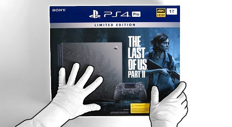 PlayStation 4 Pro The Last of Us Part II Limited Edition Unboxing