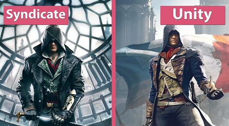 Assassins Creed Syndicate vs Unity Graphics Comparison