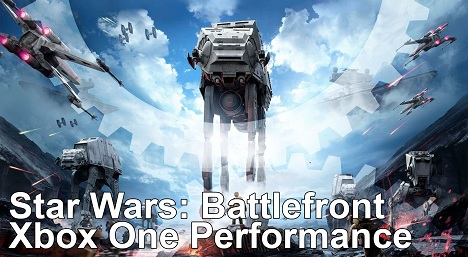Star Wars Battlefront Xbox One Final Code Frame Rate Test
