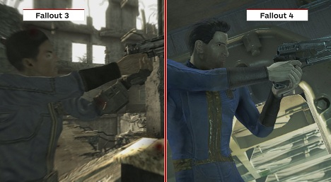 Fallout 3 vs. Fallout 4 Graphics Comparison