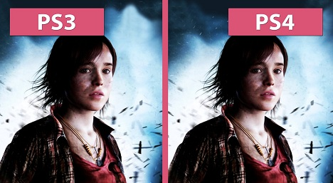 Beyond Two Souls PS4 vs PS3 Graphics Comparison