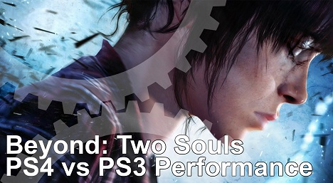 Beyond Two Souls PS4 vs PS3 Frame Rate Test